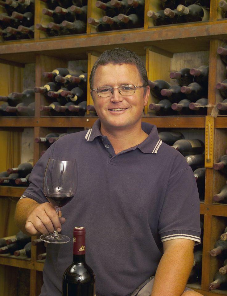 Abrie Beeslaar - one of the winemaker kings of Pinotage.