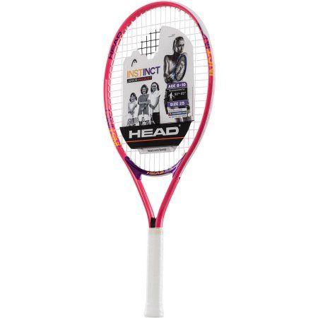 Head Instinct 25 Junior Tennis Racquet, Red
