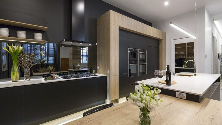Darren thought the floors were perfect, noting that 'the colours work perfectly' with the rest of the kitchen.
