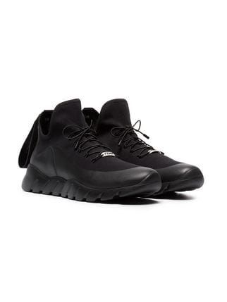 a66e3db9 Fendi black technical knit high-top sneakers | Boots | Sneakers, All ...