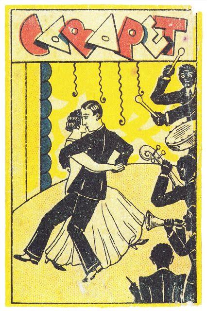 vintage Mexican matchbox design
