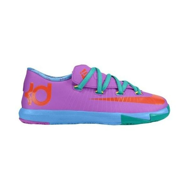 Nike KD VI Boys' Preschool ($68) ❤ liked on Polyvore featuring shoes and sneakers