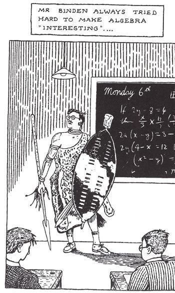 Mathematics Cartoons