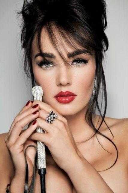 Cute make up and nails