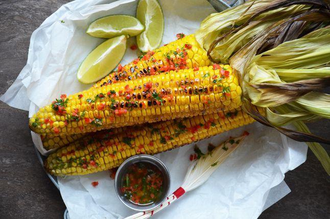 Kublanka vaří doma - Grilovaná kukuřice