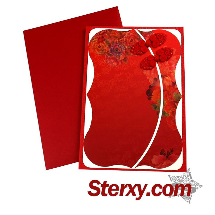 26 best chinese new year greeting cards images on pinterest the unique design is so attractive and make you feel the beauty of classical chinese art a best gift for your friends write down your new year wishes m4hsunfo