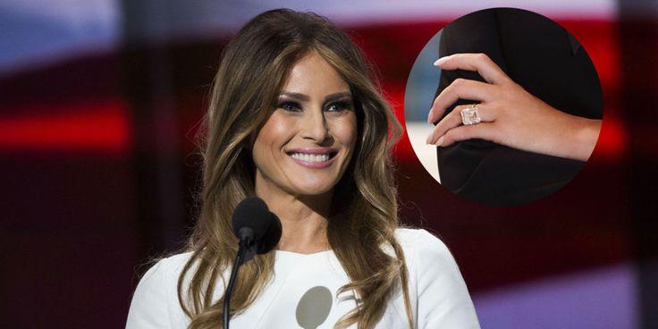 Quell'anello di Melania (da 3 milioni di dollari) fa infuriare gli americani