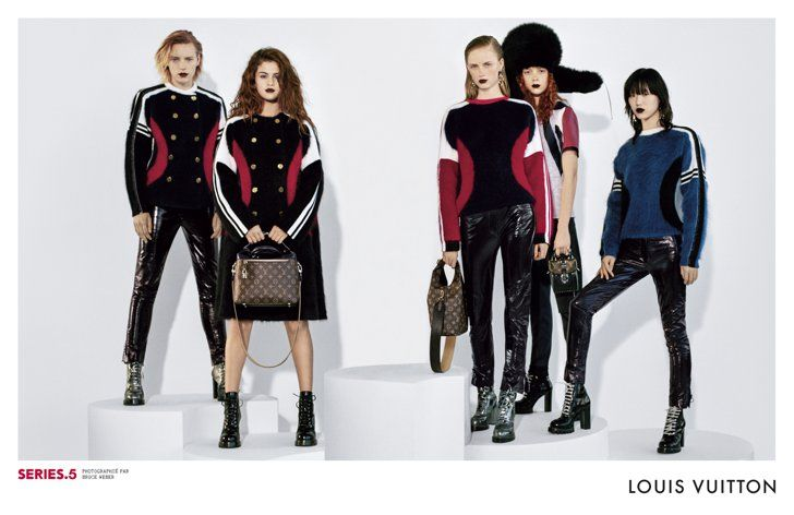 Pin for Later: Selena Gomez Could Not Look More Badass in the New Louis Vuitton Campaign