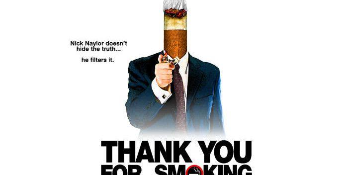 """CCL - Cinema, Café e Livros: FILME: """"Obrigado Por Fumar"""" – (2005)"""