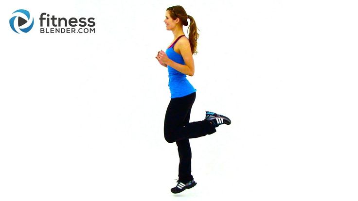 Fitness Blender HIIT Workout for Fat Loss - 2 rounds AABB, 20 on|10 off. A=sidewinder mountain climbers; B=toe touch jacks. 2 minutes active rest between rounds.