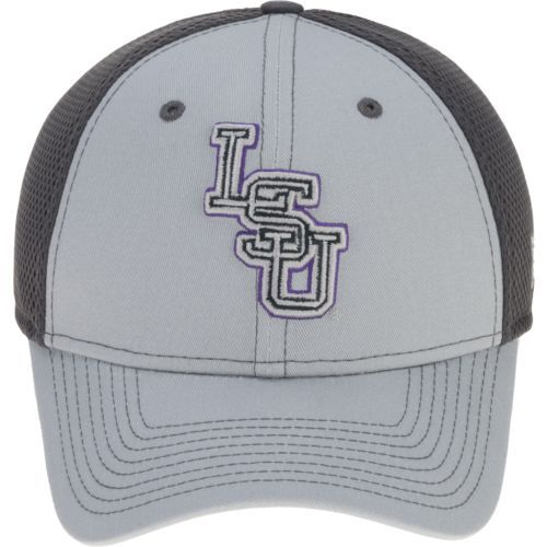 New Era Men's Louisiana State University Grayed Out Neo 39THIRTY Cap (Charcoal/Purple, Size Large/X Large) - NCAA Licensed Product, NCAA Men's Caps...