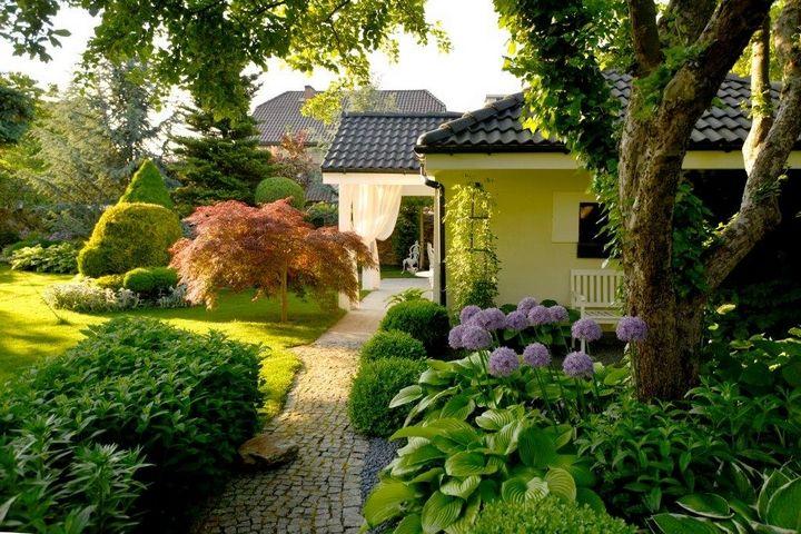 Znalezione obrazy dla zapytania piekne ogrody