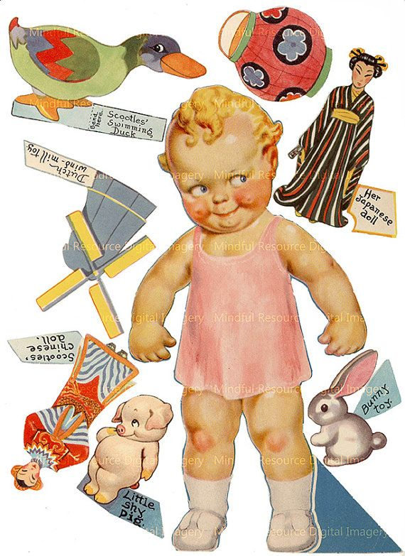 Famoso 682 best Paper Doll Art images on Pinterest | Paper crafting  YH15