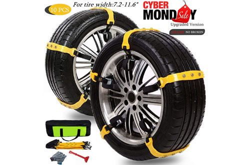 Mannice Anti Slipmud Snow Tire Chains For Cars Snow Chains Car Tires Truck Tyres