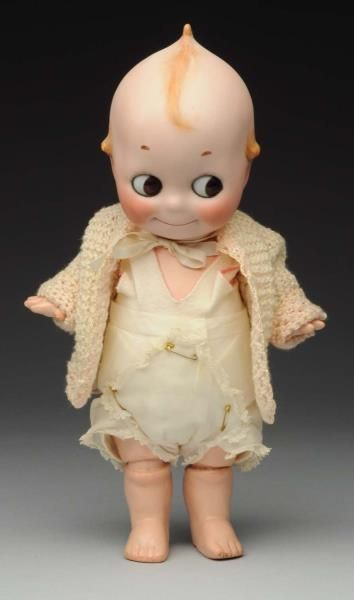 "Lot # : 219 - Captivating ""Kewpie"" Doll."