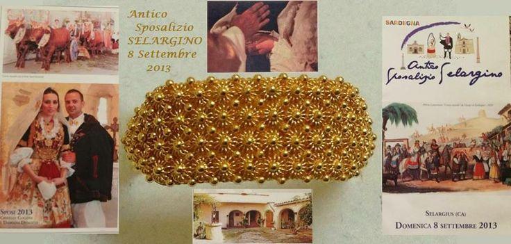 Giesse, sardinian gold wedding ring