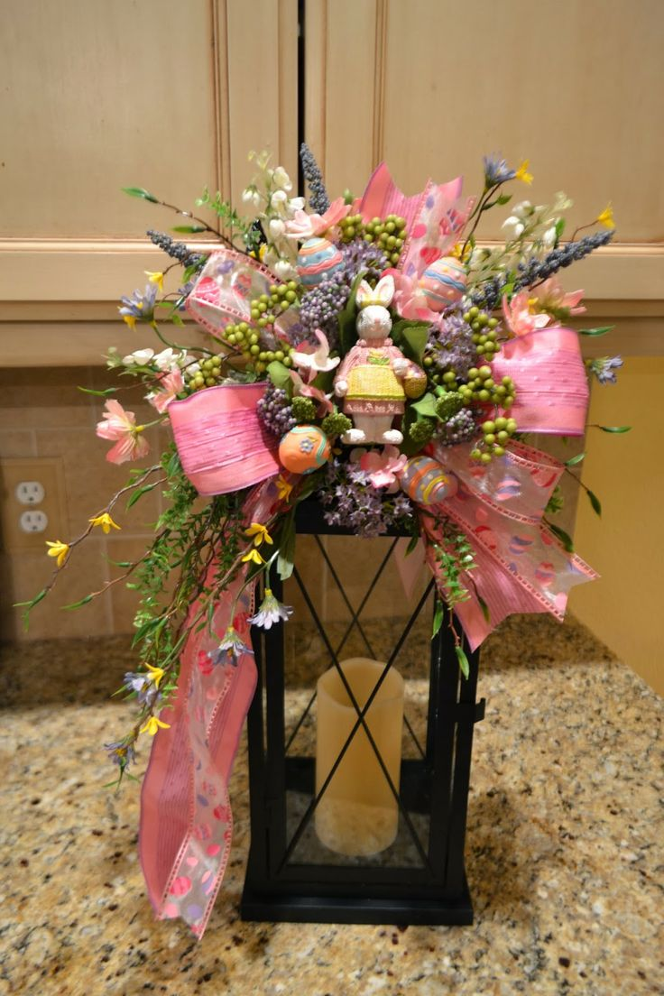 30 best images about easter decor on pinterest easter for Arrangement floral exterieur