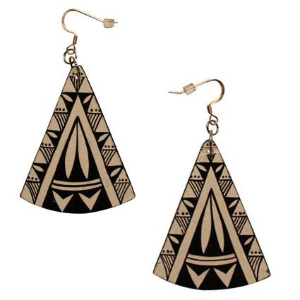 Native X: Faint Earrings.