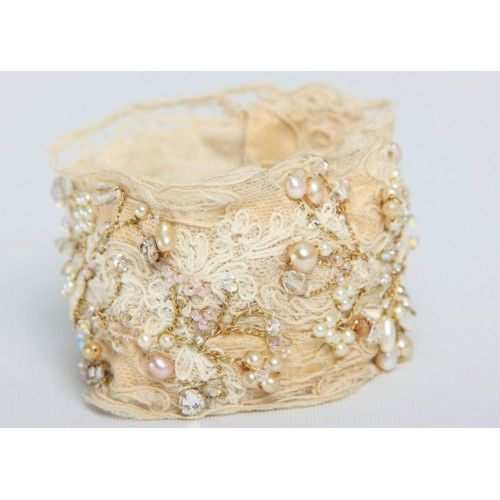 Antique Filigree Lace Cuff