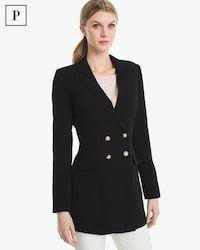 Petite Longline Blazer Jacket