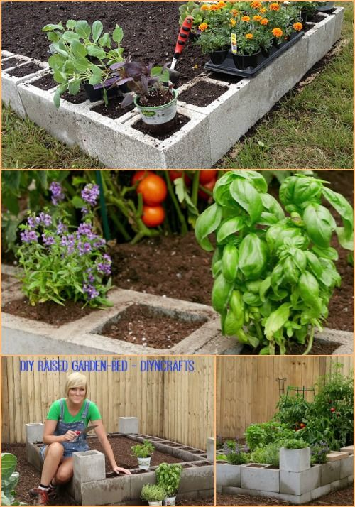I've been advocating for growing your own veggies and herb for quite some time, so here's another great way to do so if you're keen on the idea. A raised cinder block garden really has so many benefits: the cinder blocks themselves are affordable (about $1 each); you get to start off with...