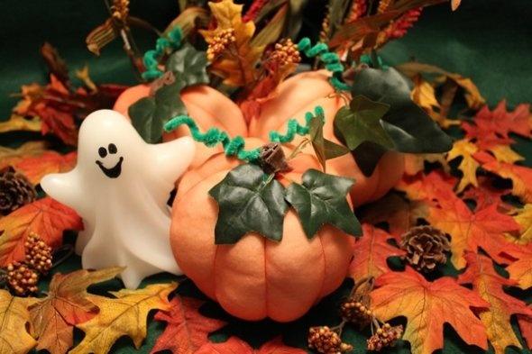 pantyhose pumpkin