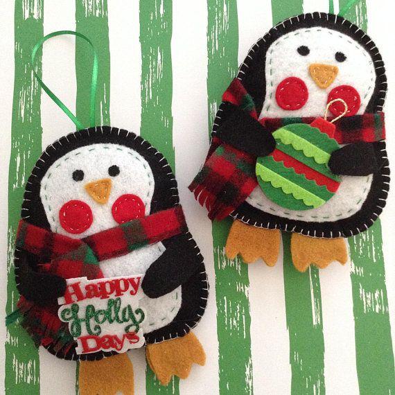 Whimsical Penguin Ornament