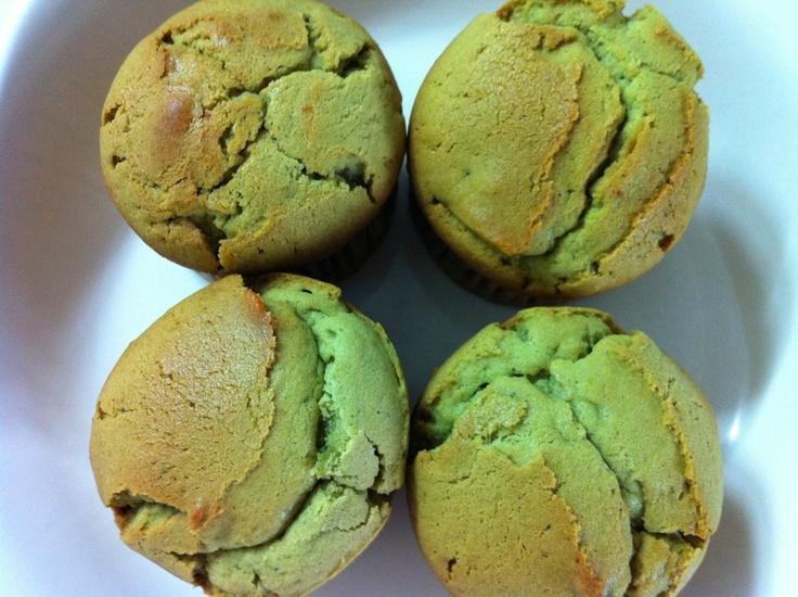 green-tea muffins