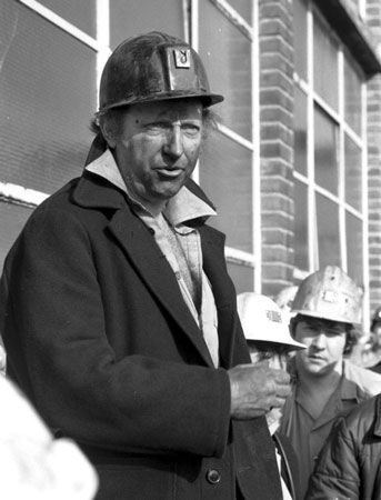 Arthur Scargill (born 11 January 1938) is a British politician and trade unionist who was president of the National Union of Mineworkers (NUM) from 1982 to 2002.
