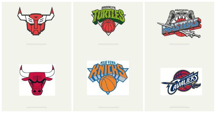 El sitio de internet 'Behance' hizo este pequeño homenaje a algunos de los 28 equipos del basquetbol profesional de la NBA modificando el logotipo de estos, con los de las caricaturas de la epoca de algunos de nosotros de los años 80's y 90's que inmediatamente recordaremos y que quedaron geniales.