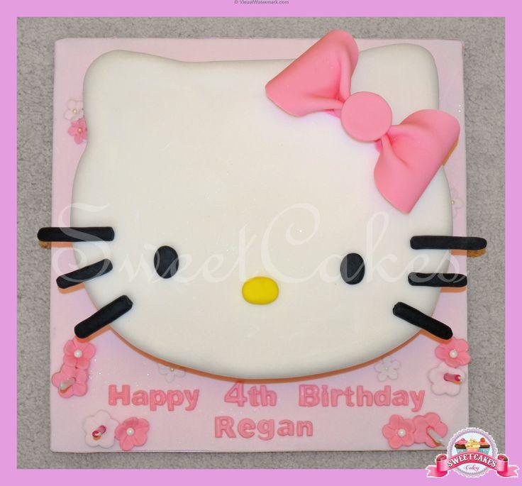 Children's Birthday Cakes - Hello Kitty Cake