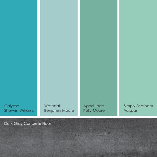 My Finished For Now Kitchen From Kelly Green To Teal: 1000+ Ideas About Watery Paint Color On Pinterest