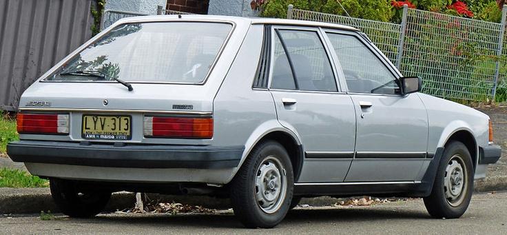 Ford Mustang 1979-1993 << Mazda Familia 1980-1985