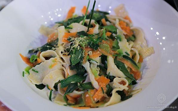 Tagliatelle alle verdure lunghe di Mariachiara