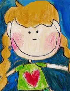 bimba, illustrazione
