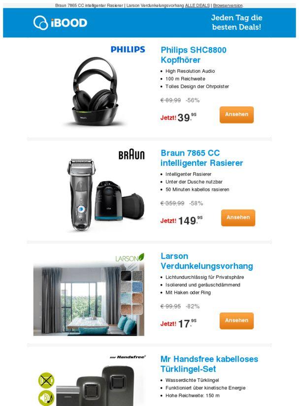 Philips SHC8800 Kopfhörer-56% |Larson Verdunkelungsvorhang-82% |Mr Handsfree kabelloses Türklingel-Set-55%  ❙  #ComputerElektronik  - https://deal-held.de/philips-shc8800-kopfhoerer-56-larson-verdunkelungsvorhang-82-mr-handsfree-kabelloses-tuerklingel-set-55/