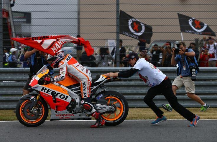 Marc and Alex Marquez, Japanese MotoGP 2014
