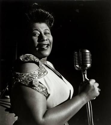 Ella Fitzgerald - that lady could sing and scat! What a wonderful talent!