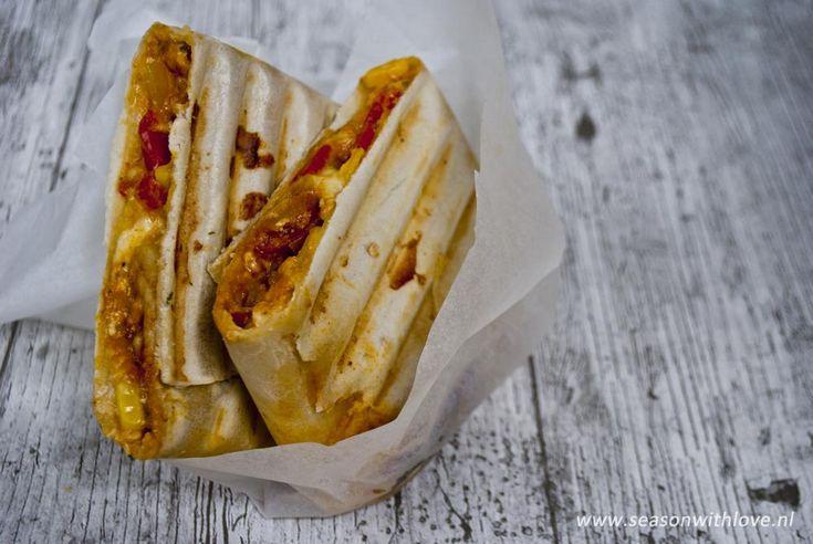 Heerlijke vegetarische burrito's die je al voor minder dan 3 euro op tafel kunt zetten. Goedkoop eten kan enorm lekker zijn!