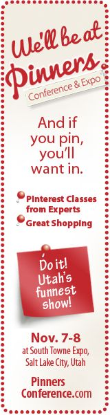 Calling all Pinners! We are teaching at Pinners Conference on November 7th & 8th in Utah! This conference is where Pinterest comes to life. Get $5 off with our code: sixsistersstuff. For tickets go to http://www.pinnersconference.com/Register! We can't wait to see you all there!