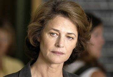 "Charlotte Rampling - wonderful actress  now finally allowed to move out of that whole ""sex-kitten"" bulls**t"