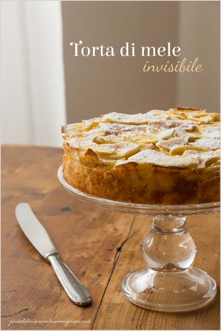 Torta di mele invisibile - Invisible apple pie