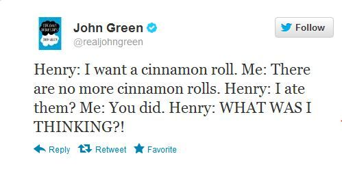 my favorite author and his toddler son. Oh John Green, you amuse me so