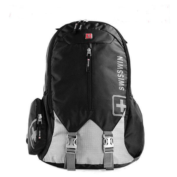 """Original Swiss 17.3"""" Casual Waterproof 30L Large-Capacity Backpack 3 Colors"""