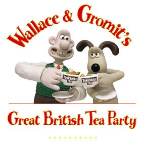 Wallace and Gromit - ridiculously British.