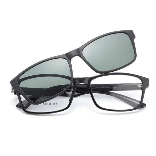 1601 Urltra-Light TR90 Eyeglasses Frame With Polarized