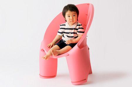 Modern kids chair