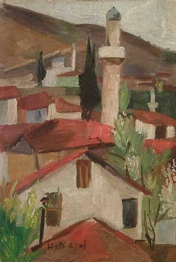 Hale ASAF - Turkish Paintings