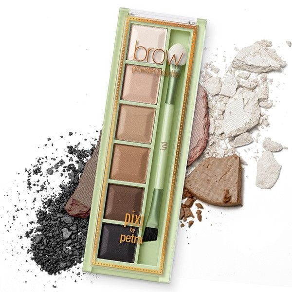 Pixi Beauty Brow Powder Palette - Palette of 6 brow powders + applicator for a perfectly defined, customized look! - Spring 2015