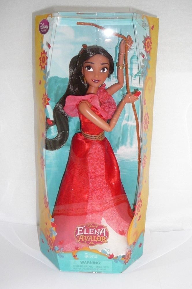 Disney Store Exclusive Princess Elena of Avalor Classic Doll 12 New Free Shipp